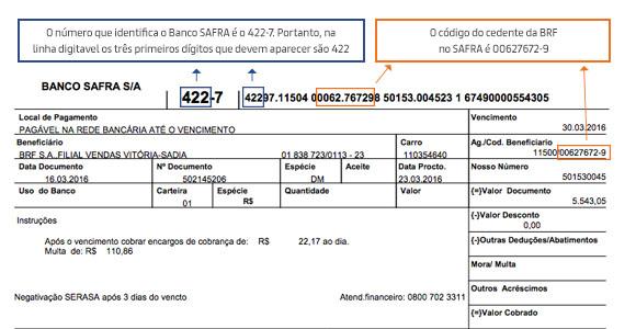 Boleto Banco Safra